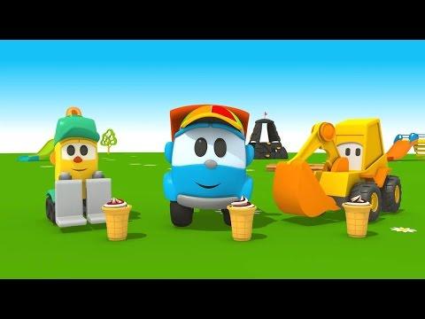 Leo Junior und die Eismaschine - Das wird lecker - 3D Cartoon für Kinder