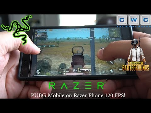 Pubg Mobile On Razer Phone  Fps Best Gaming Phone
