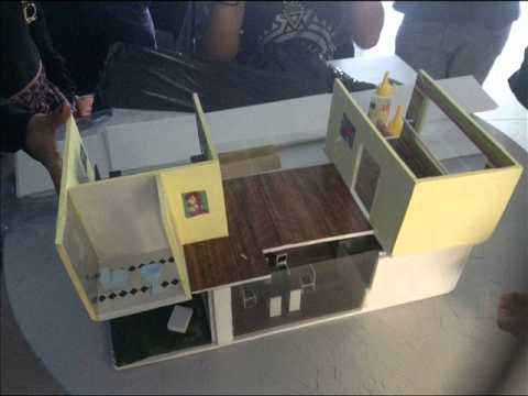 Dise o de interiores maquetas youtube for Diseno de interiores universidad