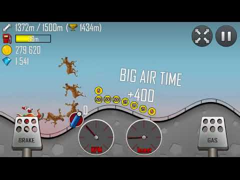 Hill Climb Racing - Highway with Sleigh
