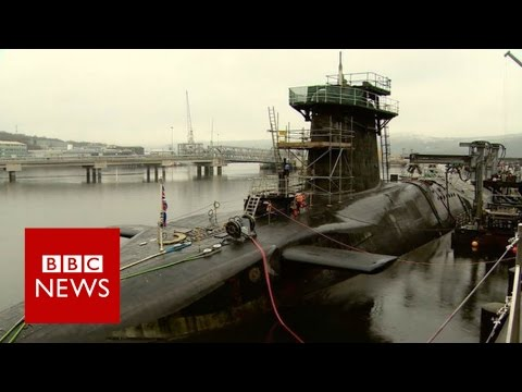 What's it like on board a nuclear submarine? BBC News