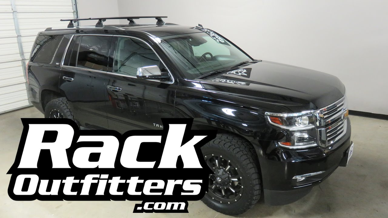 Chevrolet Tahoe With Yakima Skyline Jetstream Roof Rack