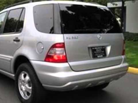 2003 mercedes benz m class ml320 4dr awd 3 2l suv santa for 2003 mercedes benz suv