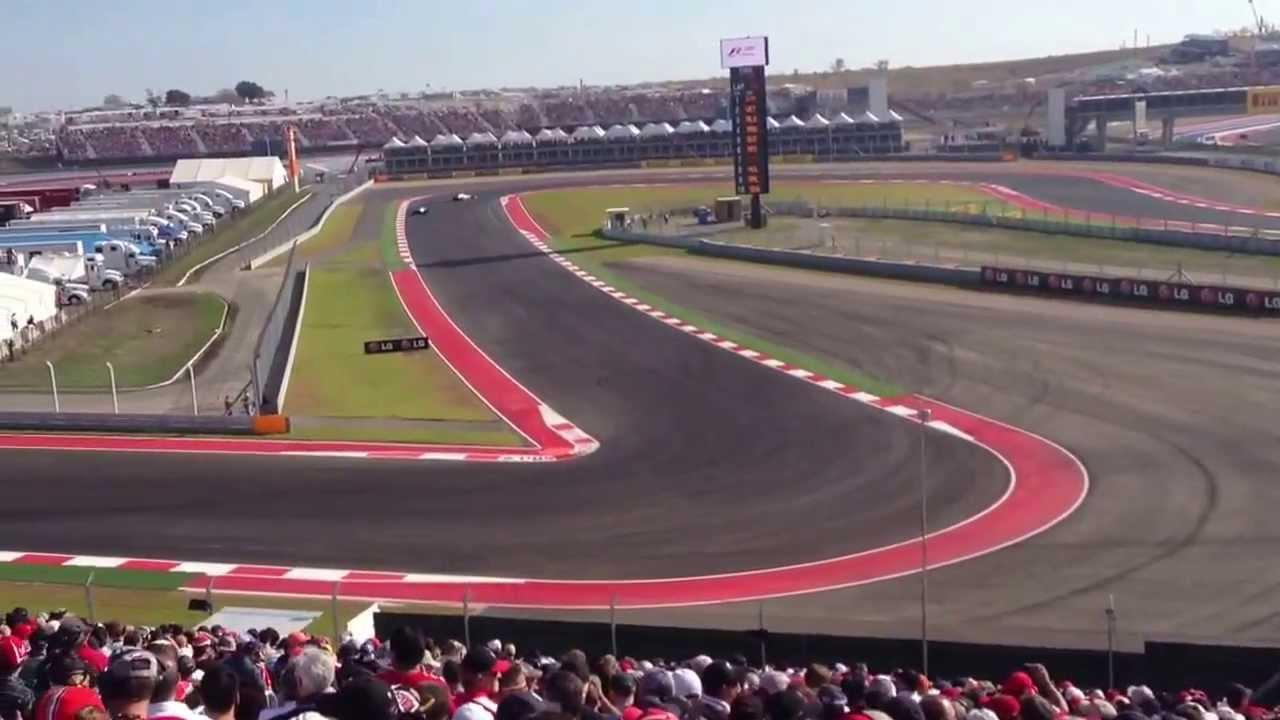 F1 Cota Turn 12 Youtube