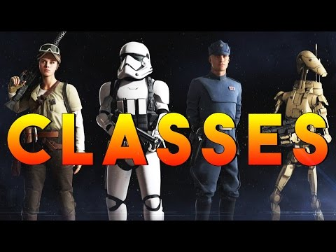 CLASSES EXPLAINED! STAR WARS BATTLEFRONT 2 (Battlefront 2 Ne