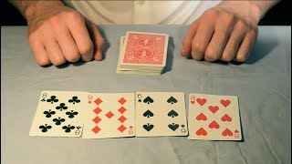 This is one of the all-time great table card tricks. It is incredib...
