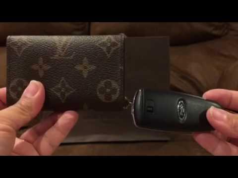 280464cf19b LV Mono 6 Key Holder vs Tory Burch 6 Key Holder Review - YouTube