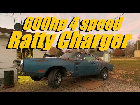 600hp 4 speed Ratty Charger Jezebel: A whole bunch of stuff gettin' done BUILD pt 13
