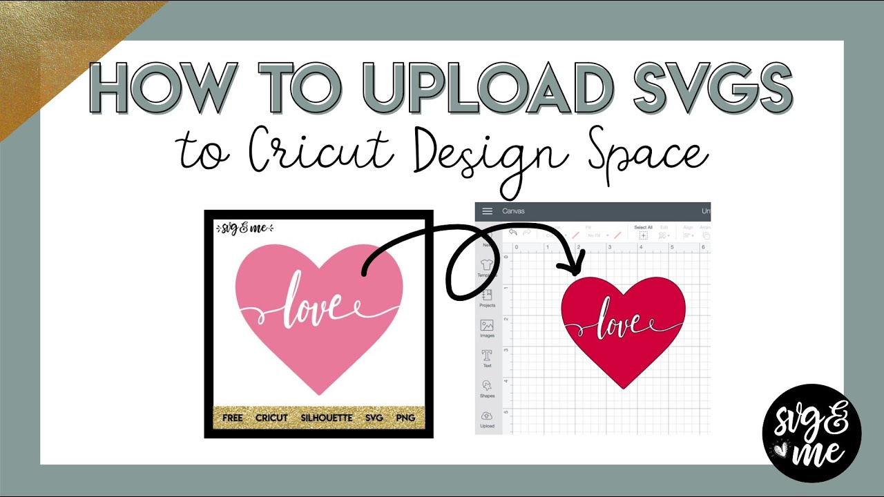Download How to Upload SVG Files to Cricut Design Space - YouTube