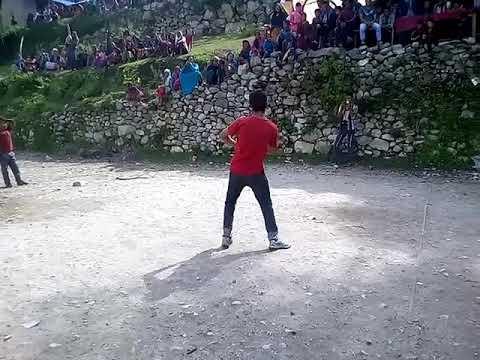 dance in purbi rukum dancer name is rabindra roka