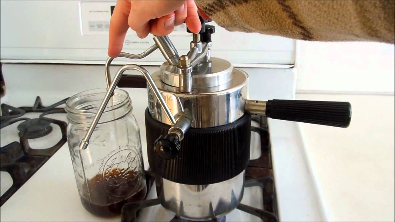 How To Use Vintage Coffee Maker : How to Use Vesuvio Stovetop Espresso Maker / Cappuccino Maker - YouTube