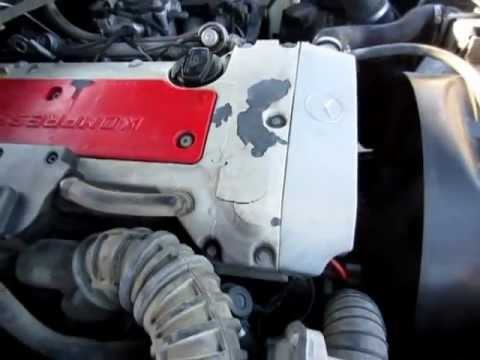 2000 Mercedes-Benz C 230 Kompressor Engine Video