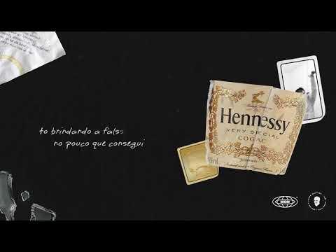 Muka Alba -  Hennessy (Prod. Eddu Chaves) (Lyric Video: Lucas Martins)