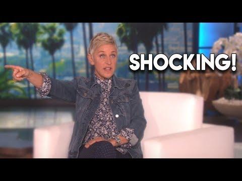 Ellen DeGeneres LOSES IT With Audience Member