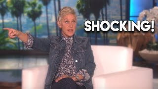 Ellen DeGeneres LOSES IT With Audience Member