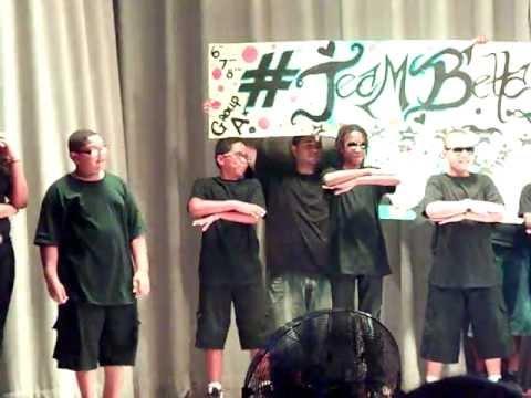 Rodneys dance at camp Live Nation