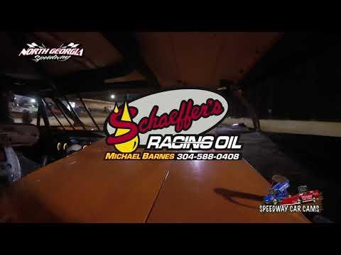 #4F Derek Franks - A Hobby - 11-11-17 North Georgia Speedway - In Car Camera