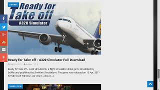 how to download ready for take off a320 simulator full download