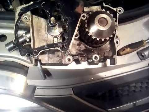 Замена помпы и ГРМ на ларгусе 16 к-й двиготель
