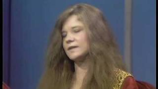 Janis Joplin bitches about European audiences