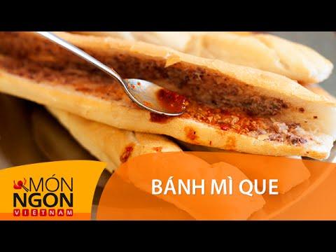 Dạy cách làm bánh mì que | Món Ngon Việt Nam