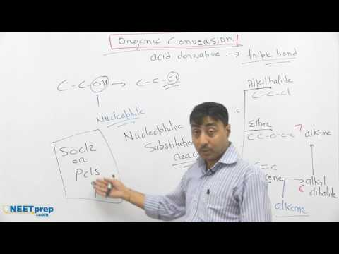 #13 - Conversion: Acid Derivative to Triple Bond (n to n) -