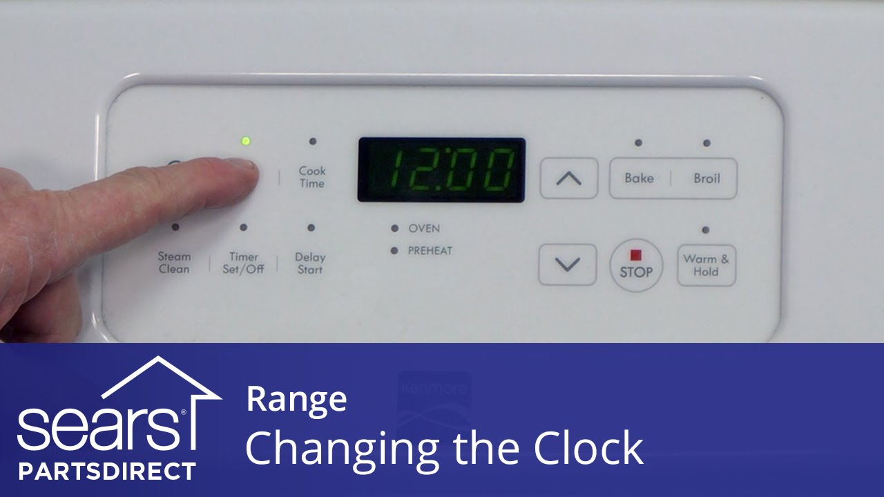 How To Change The Clock On Your Range Clock Disappeared