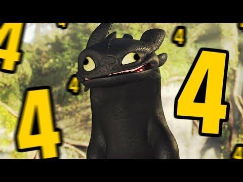 como treinar o seu dragão 4????