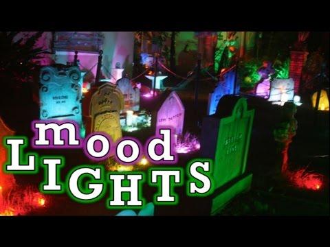 Halloween Yard Lighting  Lighting Effects Ideas  LED