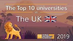 Meet The UK's Top 10 Universities 2019