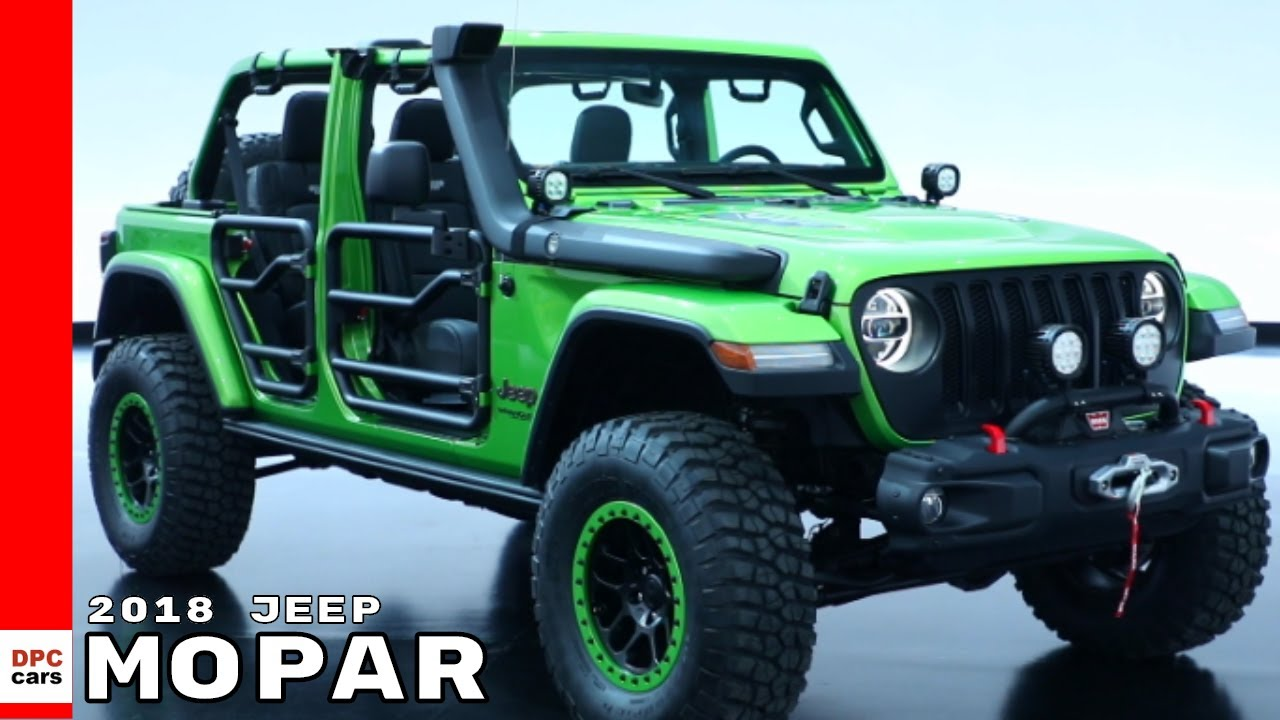 2018 Jeep Wrangler Rubicon Red >> 2018 Jeep Wrangler By Mopar - YouTube