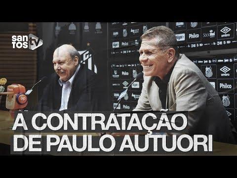 A CONTRATAÇÃO DE PAULO AUTUORI | CAFÉ COM O PRESIDENTE #9