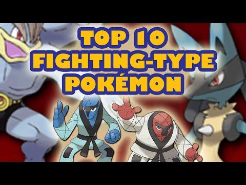 Top 10 Fighting-Type Pokémon