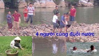 Hà Giang: đi kiếm cỏ cho bò nghe tiếng kêu của 2 đứa nhỏ cả 2 vc xuống cứu