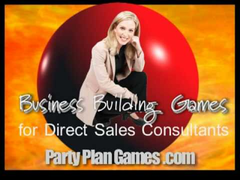 party plan games for Direct Sales Consultants Tip #1