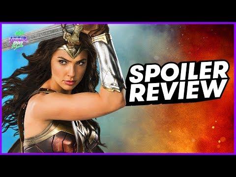 WONDER WOMAN Spoiler Review + GIVEAWAY!