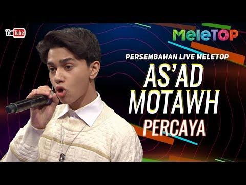 As'ad Motawh - Percaya   Persembahan Live MeleTOP   Nabil & Elly Mazlein