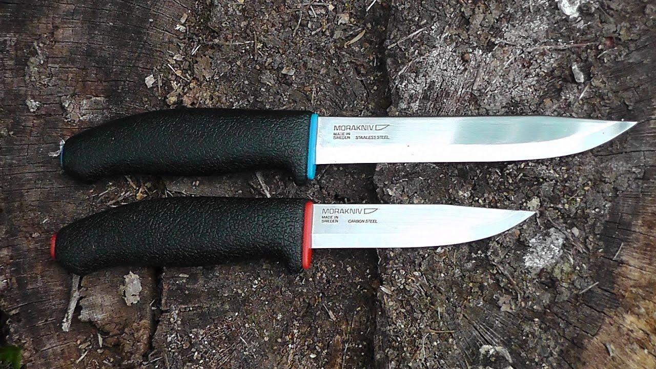 Нож mora тест нож cold steel finn hawk