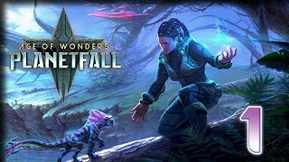 Dino-Riders! – Age of Wonders: Planetfall Gameplay – Let's Play part 1
