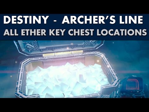 Destiny Guide - All Ether Key Chest Locations - Archer's Line (Moon)