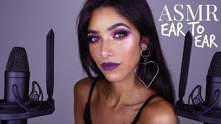 ASMR Storytime Closeup Ear to Ear + Tapping: My Tattoo Story