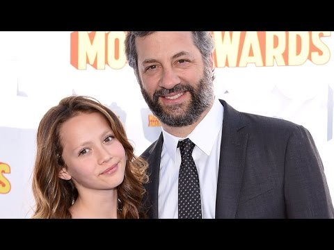 Watch Judd Apatow Completely Embarrass His Daughter at the MTV Movie Awards