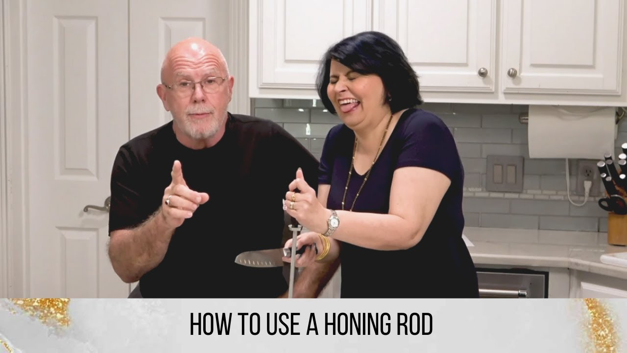 HOW TO USE A HONING STEEL - REALIGN YOUR KNIVES WITH A HONING ROD