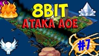 minecraft 8bit атака aoe