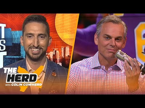Nick Wright on Lakers title hopes, Kawhi's legacy & Westbrook fitting on the Spurs | NBA | THE HERD