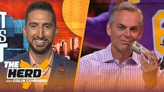 Download Nick Wright on Lakers title hopes, Kawhi's legacy & Westbrook fitting on the Spurs | NBA | THE HERD Mp3 and Videos
