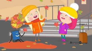 Фото Новый мультик про осень Смарта и чудо-сумка - Куда переехала Амалия Мультфильмы для девочек