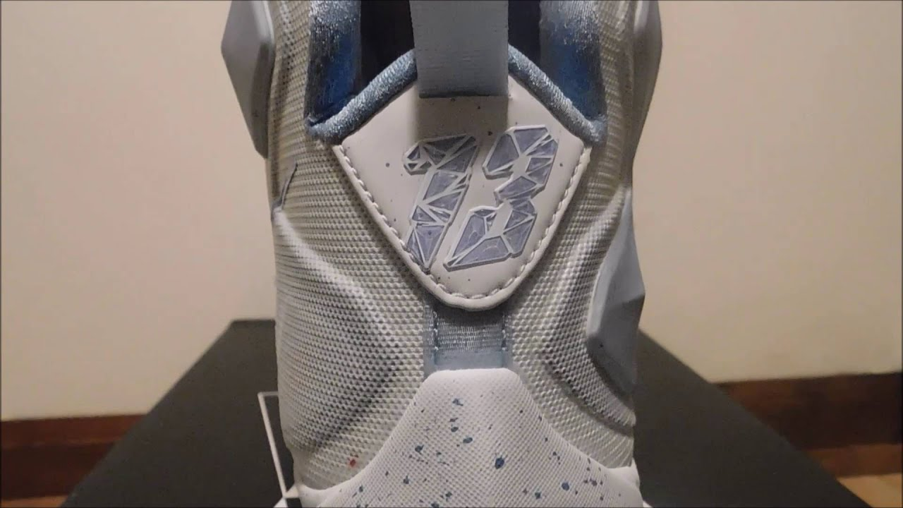 Nike LeBron 13 Christmas Edition Unboxing and On Foot - YouTube