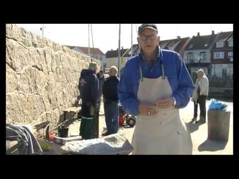 Granit på Allinge Havn