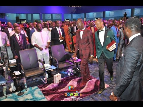 Paul Enenche & Ntia Ntia-Prophetic visit to FULL LIFE (Day 1)